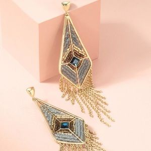 Stella and dot Aiyana fringe earrings
